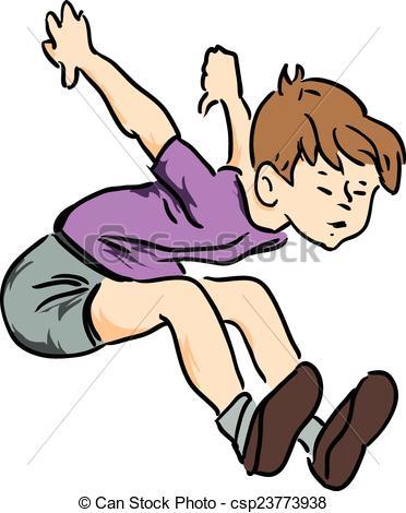 Vectors of Boy jumped.