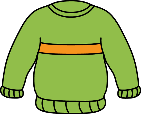 Sweater Clip Art.