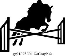 Horse Jumping Clip Art.