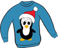 Christmas Sweater Clipart.