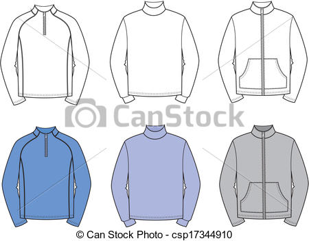 Vector Clip Art of Jumpers.