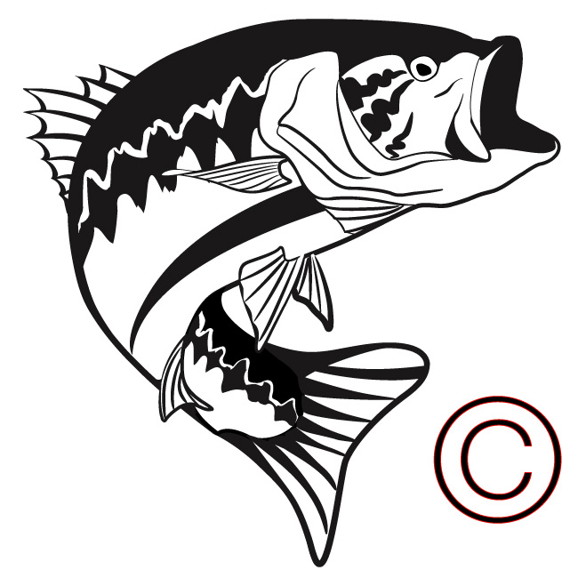 Free Jumping Bass Silhouette, Download Free Clip Art, Free.