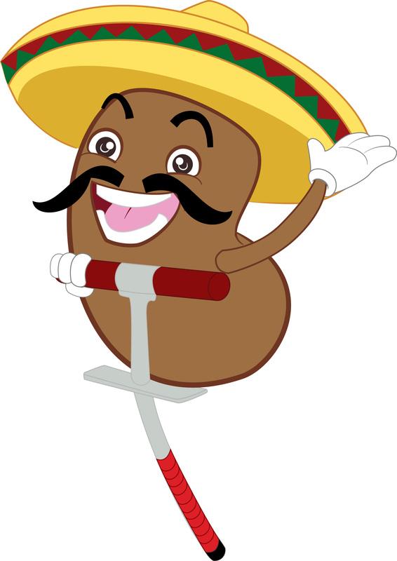 Mexican Jumping Bean Clip Art Clipart.
