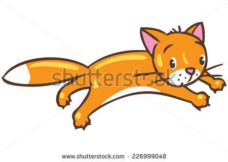 Cat Fat Character Cartoon Vector Stock Vector 270450569.