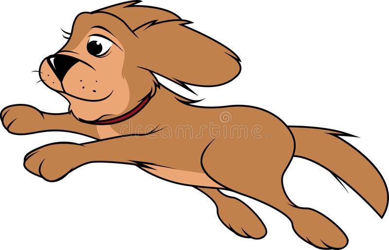 Dog Jumping Stock Illustrations.