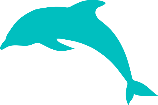 Jumping Dolphin Clipart.