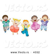 Jump up and down clipart.