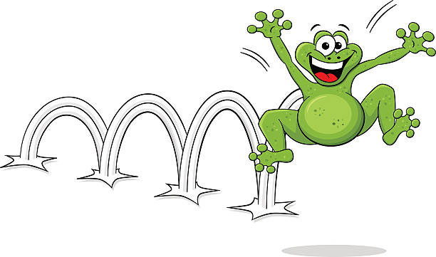 Jumping frog clipart 7 » Clipart Station.