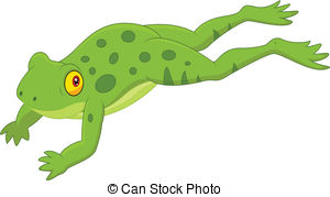 Jumping frog clipart free.