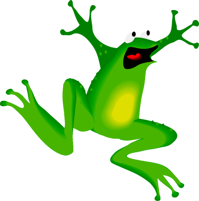 Frog Cartoon Pic.