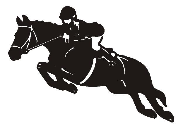 Riding clipart showjumping.