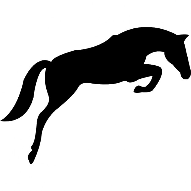 Jumping Horse Silhouette at GetDrawings.com.