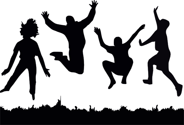Jumping Kids Clip Art at Clker.com.