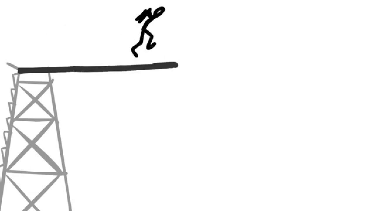 Diving Board Animation.