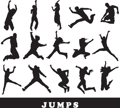 Free jumping dog silhouette clipart vector free vector download.