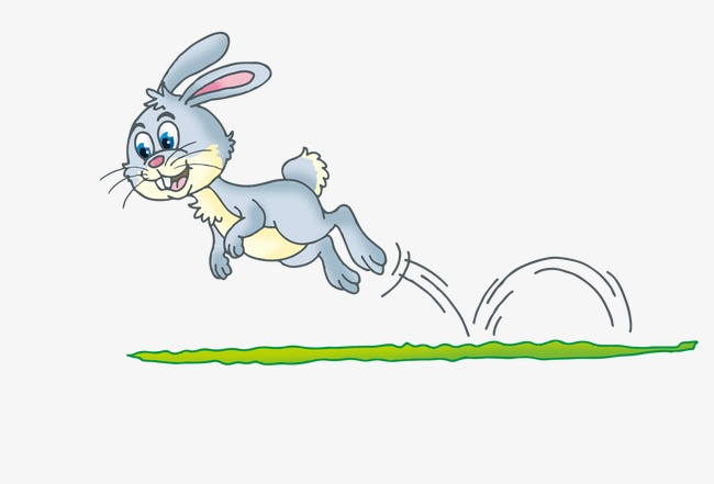 Jumping Rabbit, Rabbit Vector, Vector Ra #88671.