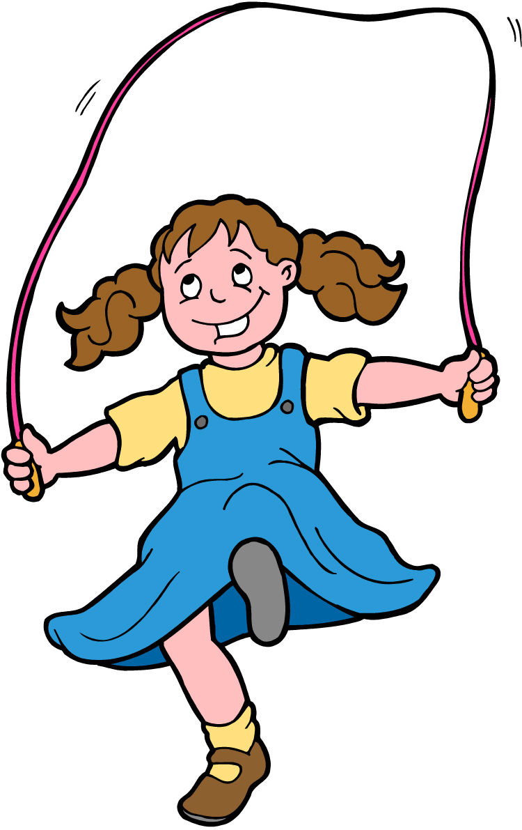 Pe Jump Rope Clipart.