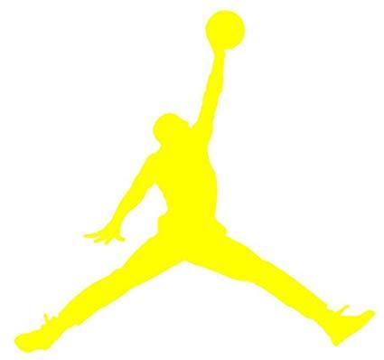 Air Jordan Nike Jumpman Logo Vinyl Sticker Decal.