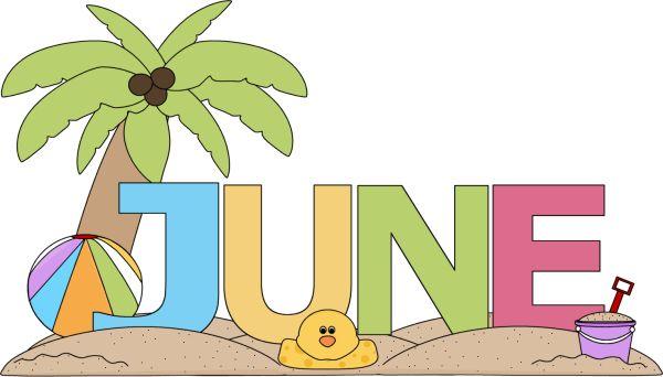 June Clip Art Images.