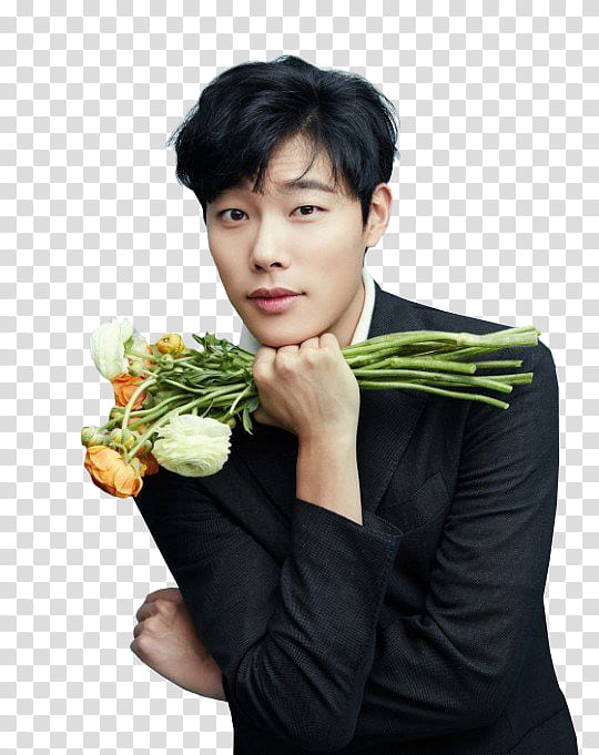 Ryu Jun Yeol Render transparent background PNG clipart.
