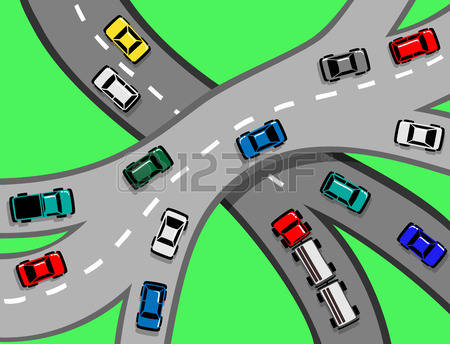 229 Auto Congestion Stock Vector Illustration And Royalty Free.