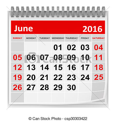 Clip Art of Calendar.