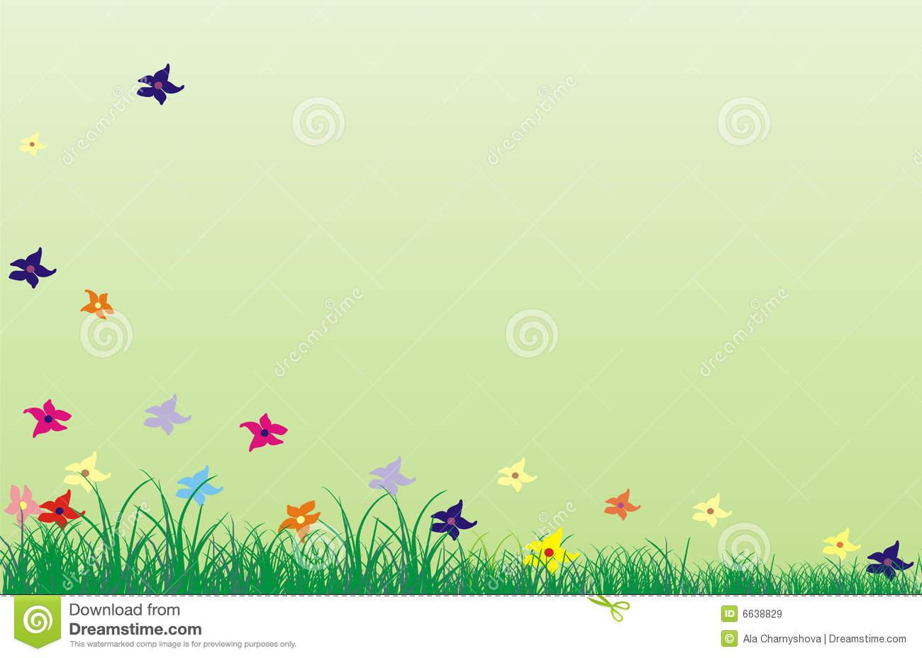 Background for June stock illustration. Illustration of meadow.