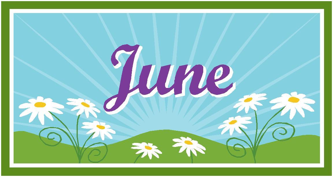 June clipart 7.