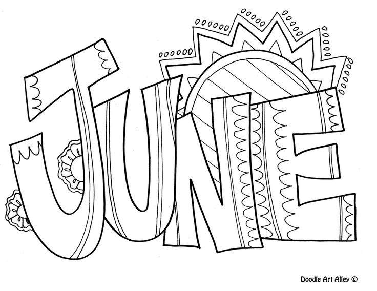 June Clipart Black And White Collection with regard to June Clipart.