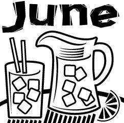 June clipart black and white 1 » Clipart Portal.