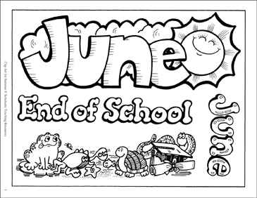 June clipart black and white 6 » Clipart Station.