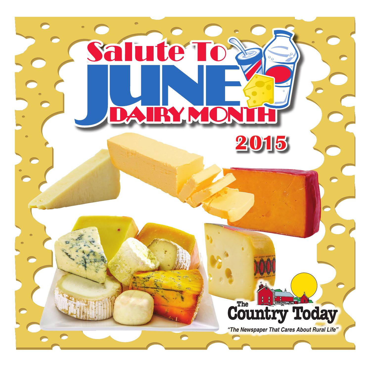 Salute to June Dairy Month 2015 by Leader Telegram.