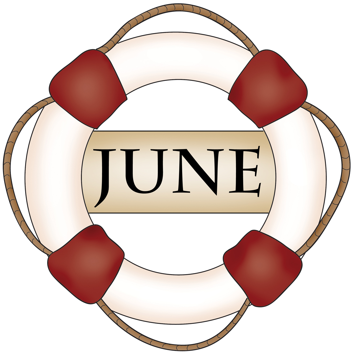 June Dairy Month Clipart.