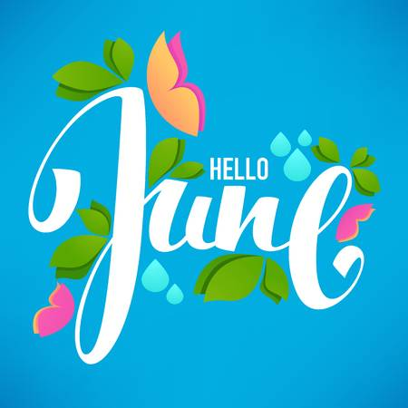 Hello June [Newsletter].