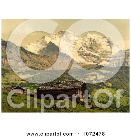 Jungfrau Mountain Photos #1.