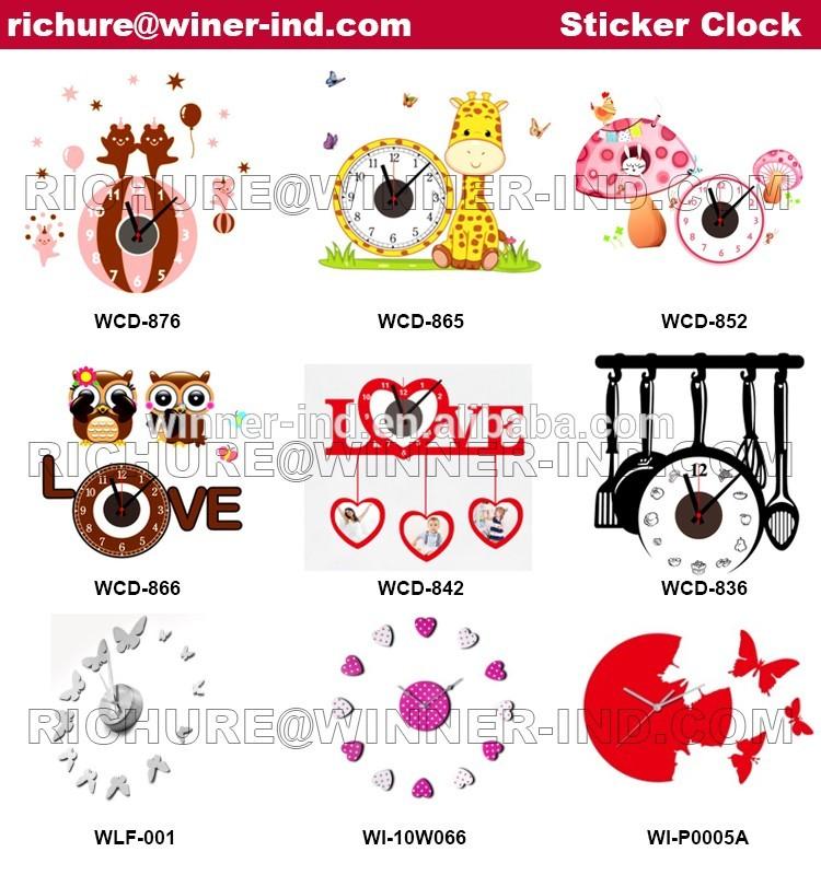 Junghans Quartz Clock Movement,3d Wall Clock,Best Selling Products.