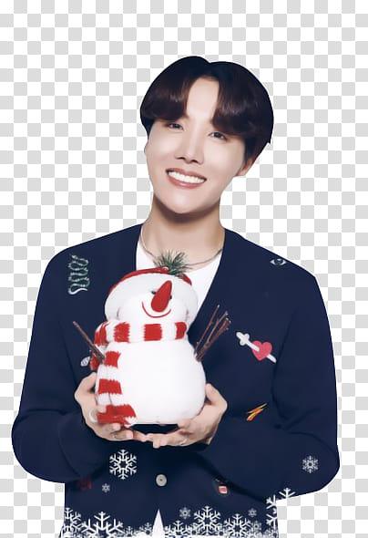 BTS BTS X LG MERRY CHRISTMAS PT transparent background PNG.