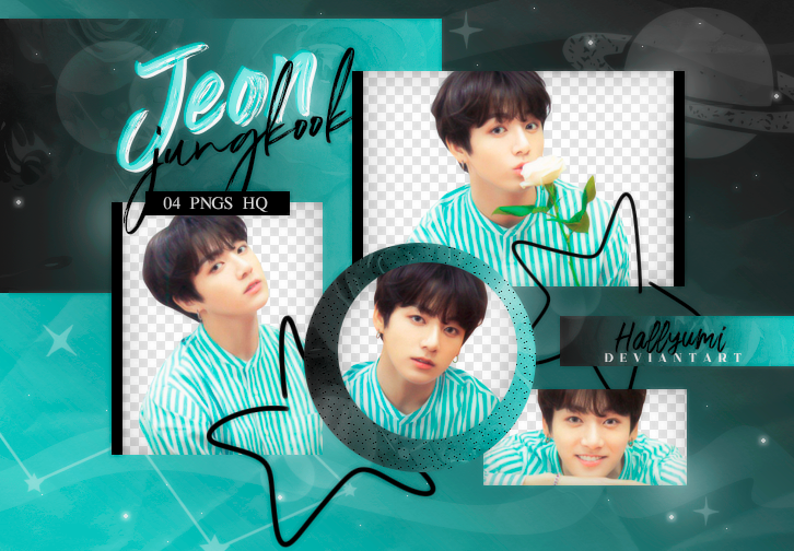 PNG PACK: JungKook #27 by Hallyumi on DeviantArt.