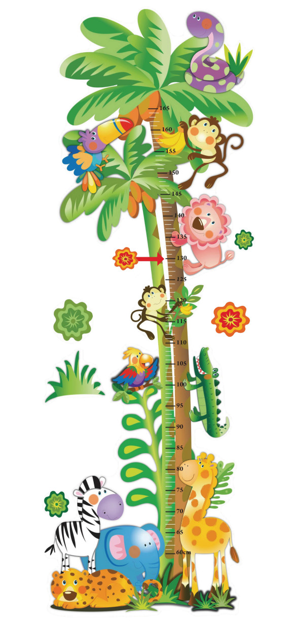 Jungle theme border clip art 6.