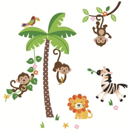 Jungle Monkey Clipart.