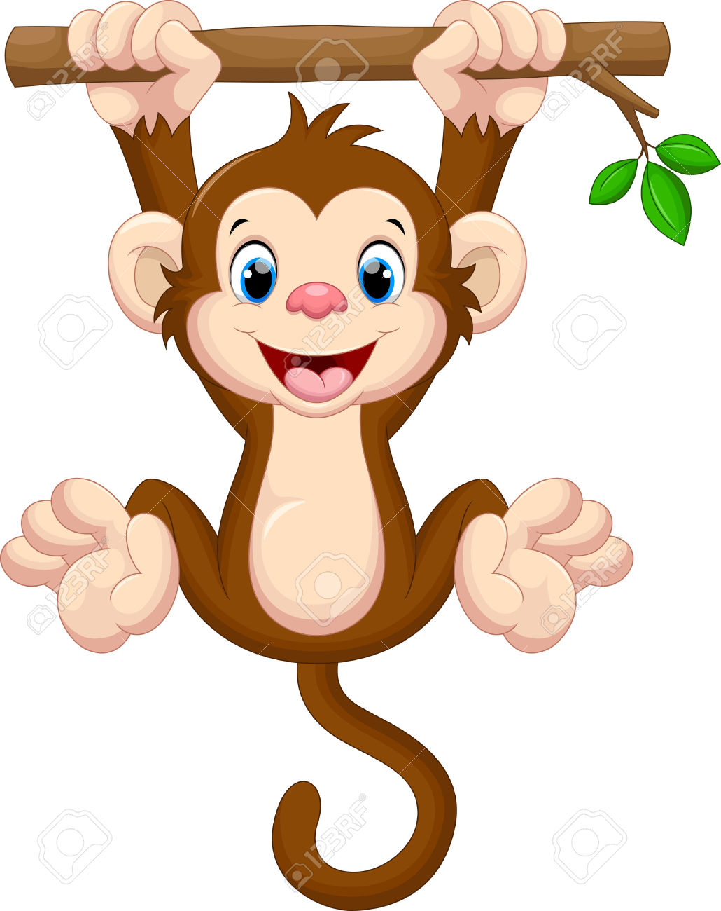 monkey hanging from tree clipart 20 free Cliparts ...