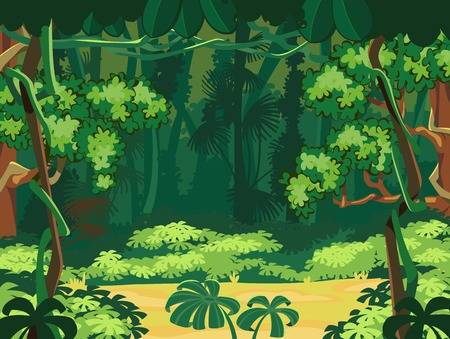 270,403 Jungle Background Stock Vector Illustration And Royalty Free.