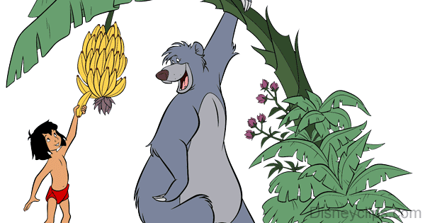 The Jungle Book Clip Art.