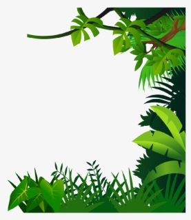 Free Jungle Leaves Clip Art with No Background.