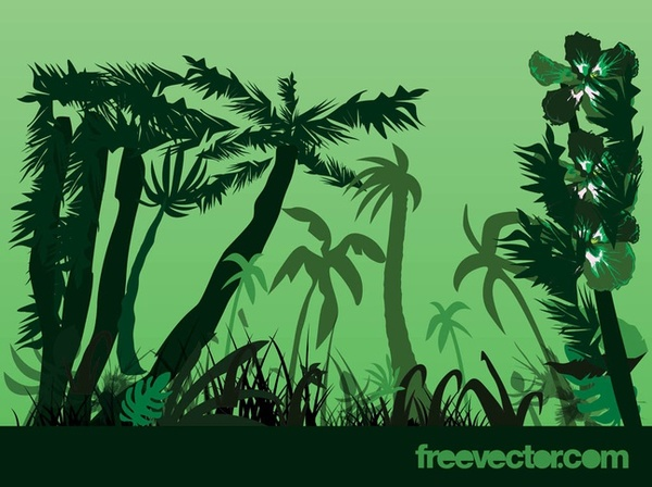 Jungle clipart.
