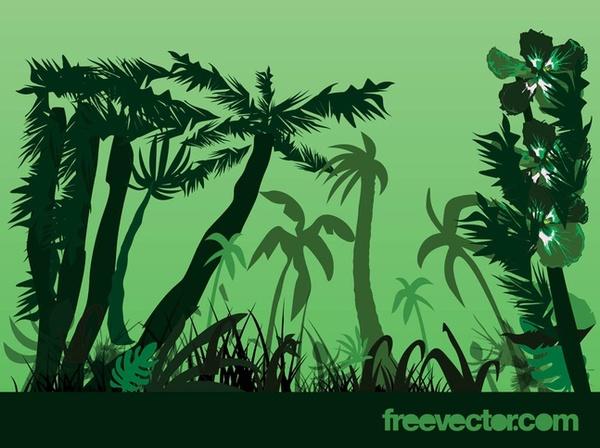 Jungle clipart.