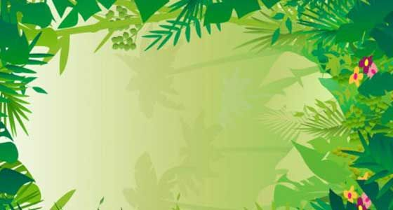 Free Jungle Background Clipart.