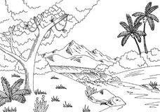 Jungle clipart black and white 1 » Clipart Portal.