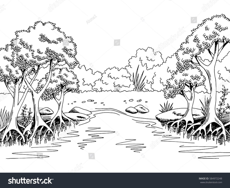 Jungle clipart black and white 6 » Clipart Portal.