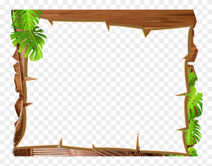 Download Frame Jungle Clipart Picture Frames Borders.